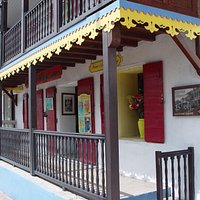 Creole house reminiscent of New Orleans, and wonderful garden in the courtyard.