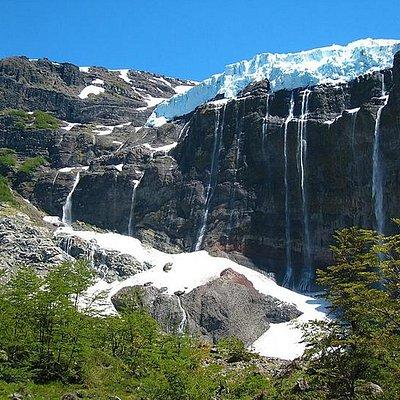 Glaciar en Cerro Tronador
