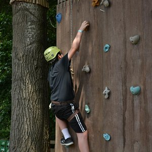 rock climbing - for little and for big kids