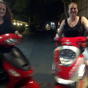 These are some of the satisfied customers who actually rented from Sin City Scooter Rentals & To