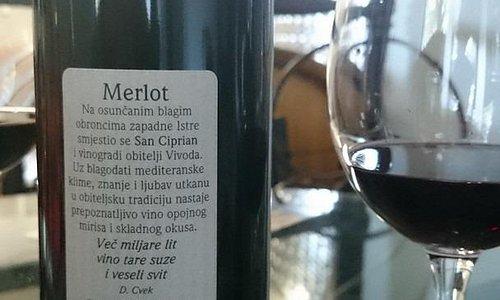 Merlot back label