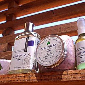 Productos naturales de Viníphera Vinoterapia