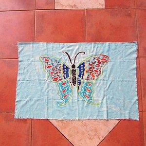 My own Batik Butterfly