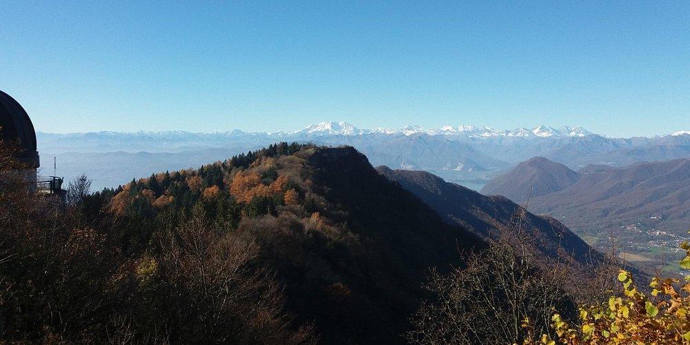 dalla vetta di mezzo verso il Monte Rosa