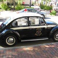 VW Bug Police Car