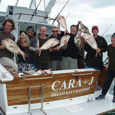 Another happy team aboard Cara*J