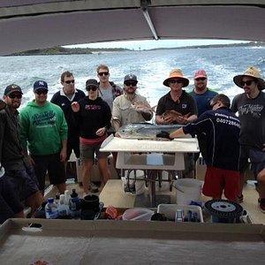 Hooker 1 Fishing Charter Sunday