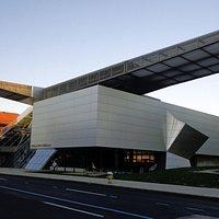modern part of Akron Art Museum