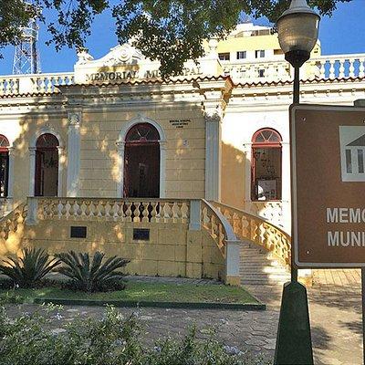 Paço Municipal de Muriaé, atualmente abriga o memorial da cidade