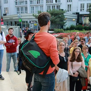 Orientation tour for Budapest Corvinus University