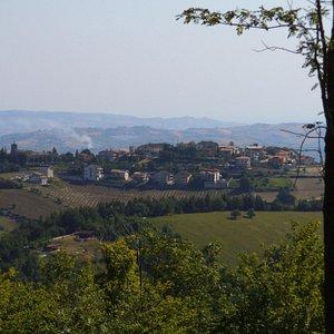 Santa Maria di Civitella vista da Colle San Nicola