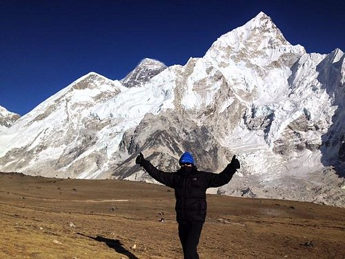 Made it to Everest Base Camp!