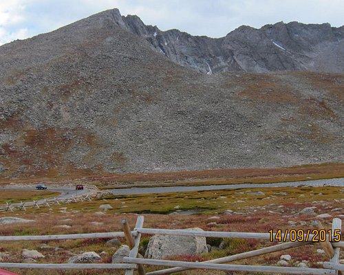 Вид на гору Эванс
