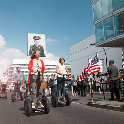 Geschichte hautnah erleben: hier am Checkpoint Charlie
