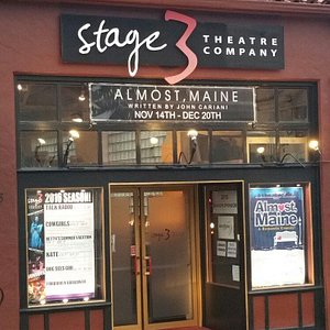 Small, intimate theater with great actors