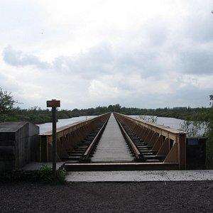de spoorbrug