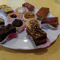 Excelentes pastelitos dulces