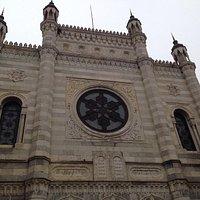 Facciata della Sinagoga di Vercelli