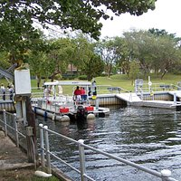 Boat Landing Area.