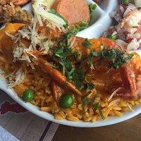 Arroz com camarão, parte da ronda