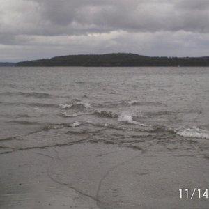 Playa de Quellón en Hito cero