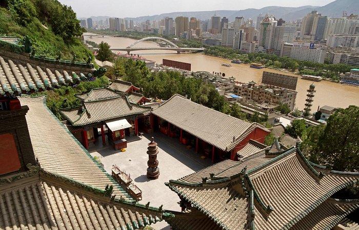 White Pagoda Mountain Baita Lanzhou City