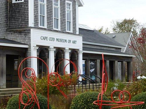 Interactive sculpture garden.  No pictures allowed inside museum