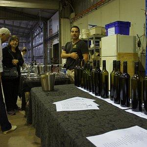 Scores of wines at Piggs Peake!