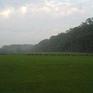 Paoli Battlefield at dusk