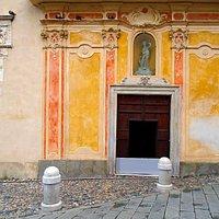 Facciata dell'oratorio di San Rocco