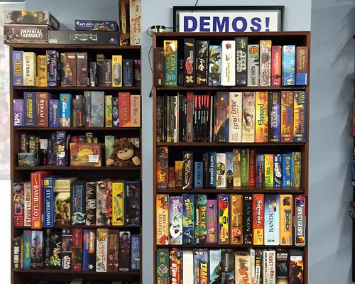 Playing games from the demo shelves and more