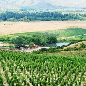 Landscapes around Ustina Village, Plovdiv Region