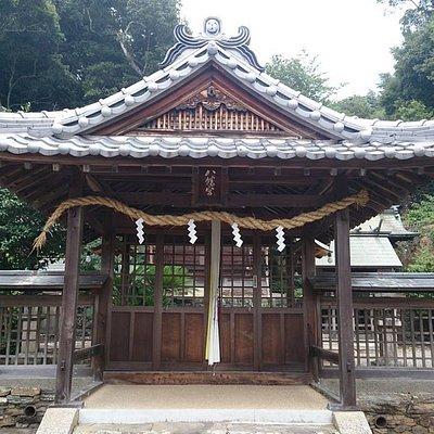 安原八幡神社本殿