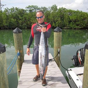 Wahoo caught with Capt. Harlan