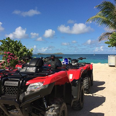 Spend an afternoon enjoying the beaches in SXM on a new ATV