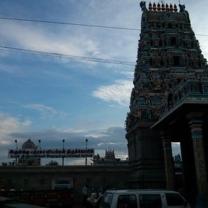 Temple front side...
