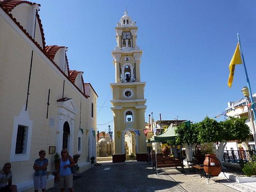 Beautiful Clock and Bells Tower