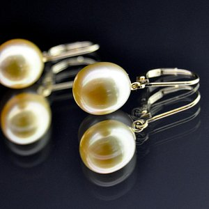 Authentic Golden South Sea Pearls