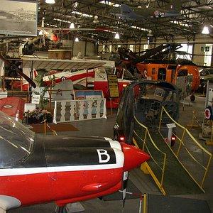 Main hangar display