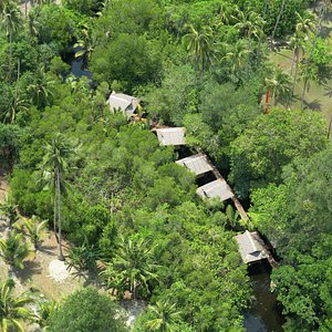 Aroma River Spa, view from above...