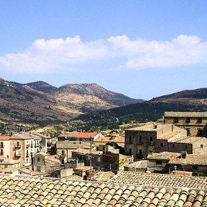 I tetti del Centro Storico di Petralia Sottana