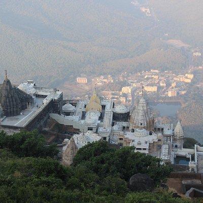 neminath jain temple and other adjacent jain temples
