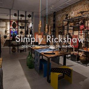 Interior de Simply Rickshaw