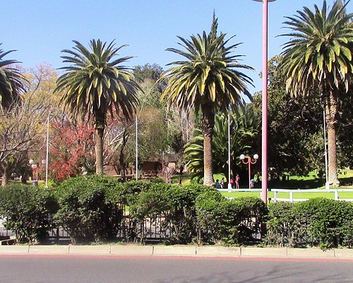 Zoo Park from far side of Independence Avenue