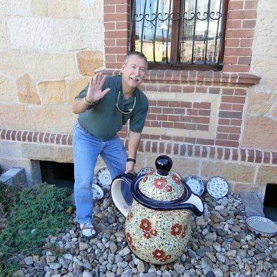 Henry's pottery store decoration