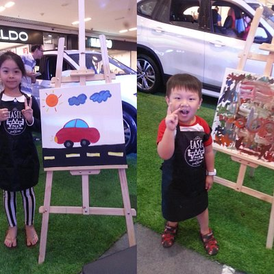 Car Potrait Art-Jam Event for kids