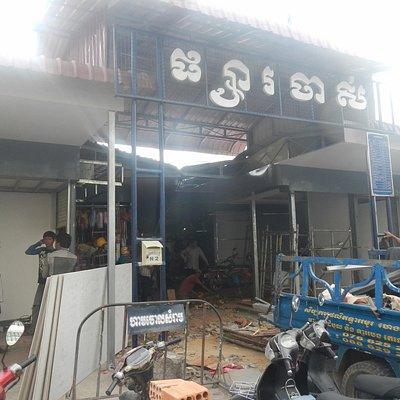 工事中の入口