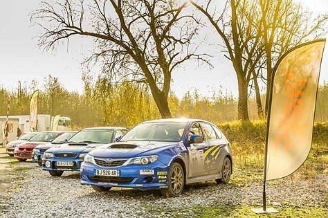 Rallye à Courcelles Les Lens