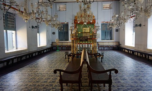 Inside of the Synagogue