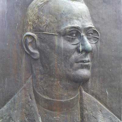 Ribnica, monument in the park